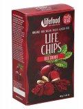 LIFE CHIPS ALLA BARBABIETOLA ROSSA - BEETROOT Chips sottili e croccanti