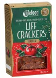 Life Crackers -Pane Croccante con Pomodoro e Basilico -  Italian