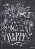 Lily & Val - Do More of What Makes You Happy - Magneto Diary 2018 - Grande - Libro
