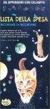 """Lista della Spesa """"Ricordati di Ricordare""""  - Il Gatto e la Luna - Notebook da Appendere con Calamita — Libro"""