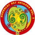 Mandalas Des Animaux - Vol. 2  - Libro