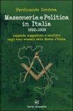 Massoneria e Politica in Italia 1892-1908