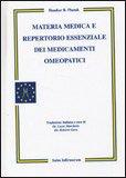 Materia Medica e Repertorio Essenziale dei Medicamenti Omeopatici — Libro