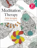 Meditation Therapy - Arte Terapia Colouring Book - Libro