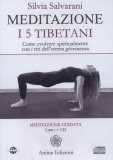 Meditazione  - I 5 Tibetani - CD Audio + Libro — Audiolibro CD Mp3