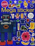 Mega Sticker - Libro