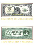Mini Poster - I Have Always Been a Millionaire