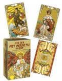 Mini Tarocchi - Golden Art Nouveau Tarot — Carte