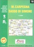 Monte Carpegna - Sasso di Simone - Carta dei Sentieri n. 16 — Libro