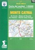 Monte Catria - Carta dei Sentieri n. 13 — Libro