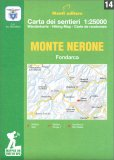 Monte Nerone - Fondarca - Carta dei Sentieri n. 14 — Libro