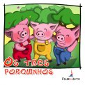Portuguese Edition - Os tres Porquinhos - Download MP3