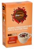 Muesli Croccante Bio con Gocce di Cioccolato e Cranberry - Veg e Gluten Free