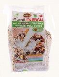 Muesli Energia - Semi di Canapa, Girasole e Prugne, Mela, Cocco
