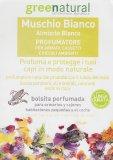 Muschio Bianco - Profumatore per Armadi, Cassetti e Piccoli Ambienti