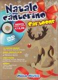 Natale Canterino Cartoons - Libro + DVD