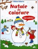 Natale da Colorare - Libro con Adesivi