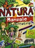 Natura - Manuale Creativo con Adesivi