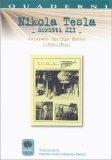 Nikola Tesla - Scritti XII  - Libro