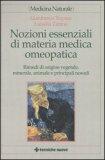 Nozioni Essenziali di Materia Medica Omeopatica