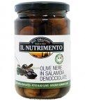 Olive Nere in Salamoia Denocciolate