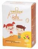 Omegor Kids - Integratore di Omega 3 DHA e Vitamina D3 ed E - Capsule Masticabili