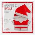 Origami di Natale + Libro + Fogli per origami - Cofanetto