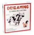 Origaming - Gli Animali della Fattoria - Libro + 90 Fogli per Origami - Cofanetto