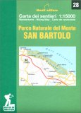 Parco Naturale del Monte San Bartolo - Carta dei Sentieri n.28 — Libro