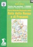 Parco Naturale Regionale della Gola della Rossa e di Frasassi - Carta dei Sentieri n. 10 — Libro
