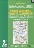 Parco Nazionale Foreste Casentinesi - Carta dei Sentieri — Libro