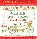 Parole Belle per 365 Giorni - Calendario 2017