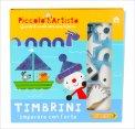 Piccolo Artista - Timbrini - Libro + Timbrini
