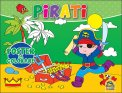 Pirati - Poster da Colorare - Libro