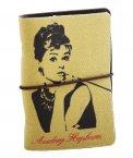 Raccoglitore biglietti da visita - Audrey Hepburn