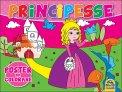 Principesse - Poster da Colorare - Libro