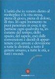 """Quadernino """"L'Unità che io Venero dietro al Molteplice è la Via Stessa"""" — Quaderno"""