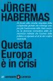 Questa Europa è in Crisi — Libro