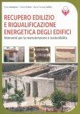 Recupero Edilizio e Riqualificazione Energetica degli Edifici - Libro