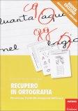 Recupero in Ortografia  - Libro