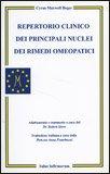 Repertorio Clinico dei Principali Nuclei dei Rimedi Omeopatici — Libro