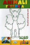 Ricalco e Coloro - Animali Fattoria  - Libro