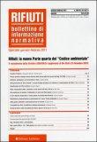 Rifiuti - Bollettino di Informazione Noramtiva n. 179 - Dicembre 2010