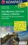 San Marino, San Leo, Urbino, Urbania - Libro