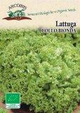 Semi di Lattuga Lollo Bionda - 3 gr - BU046