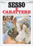 Sesso e Carattere - Libro
