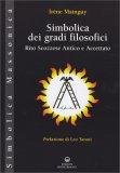 Simbolica dei Gradi Filosofici - Libro