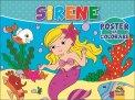Sirene - Poster da Colorare - Libro