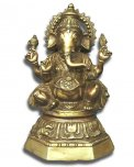 Statua in Ottone Ganesha