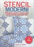 Stencil Moderni + 8 Stencil Riutilizzabili - Libro
